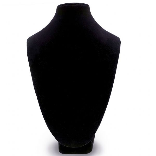 Black Velvet Bust Display Stand 3 Sizes